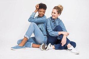 Calça Bruna - jeans escuro