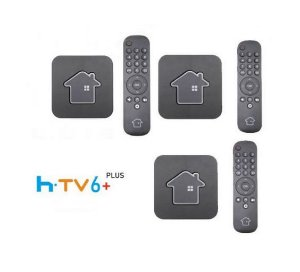 Kit de 3 Receptores Htv 6 Plus Ultra HD 16GB