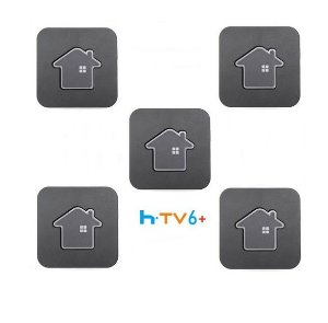 Kit de 5 Receptores Htv 6 Plus Ultra HD 16GB