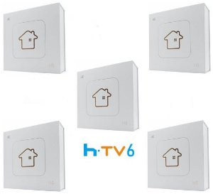 Kit de 5 Receptores Htv 6 Lite Ultra HD 8GB