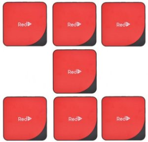 Kit de 7 Receptores Red Pro Ultra HD 4K 16GB