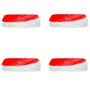 Kit de 4 Receptores Red Lite Ultra HD 8GB