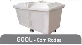 Carro Cuba 600L Com Roda