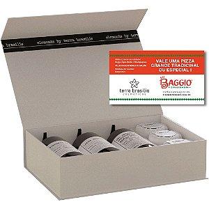 """PROMOÇÃO Gift Box Elements Ganhe uma Pizza Baggio """"SOMENTE PARA CURITIBA"""""""