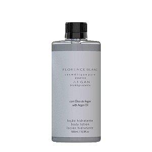Desodorante Hidratante Corporal Blanc 500ml com óleo de Argan Refil tampa rosca
