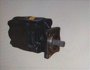 Bomba Hidraulica Marrucci P30 80 litros 8490 Flange Euro Ferro saida e entrada tras (rolamento)