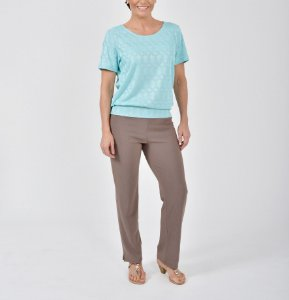 Blusa blusê tricot Cordas