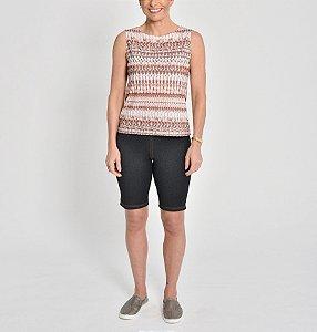 Bermuda ciclista Malha Jeans