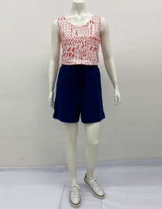 Shorts P.V. com cordão