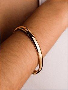 Pulseira bracelete quadrada oval