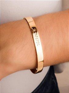 Pulseira bracelete escrito amor