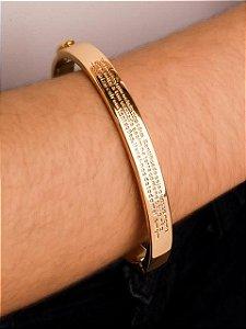 Pulseira bracelete oração Pai nosso