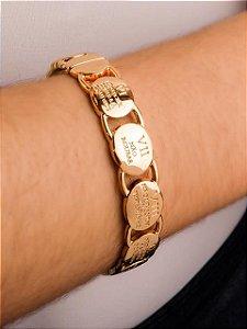 Pulseira bracelete 10 mandamentos