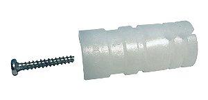 Isolador Roldana Para Haste De Cerca Elétrica 100 Peças