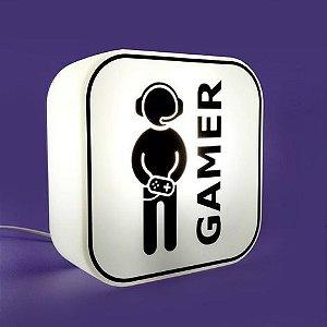 Box Luminária Gamer