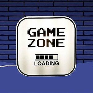 Box Luminária Game Zone