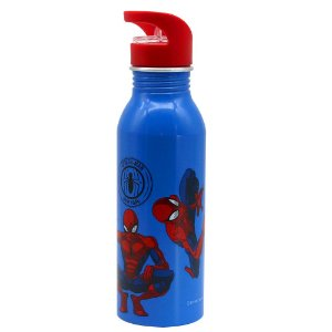 GARRAFA DE AUMINIO 600ML SPIDERMAN