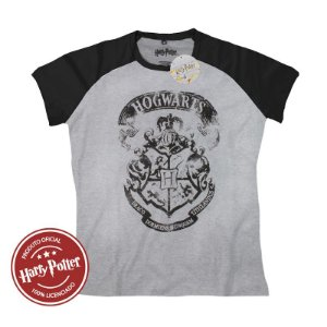 Camiseta Feminina Hogwarts Logo