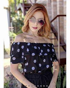 Blusa Polka Dots - Estampa bolinhas