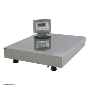 Balanca Industrial Eletronica 300Kg Inox Com Visor Movel e Bateria W300 Welmy