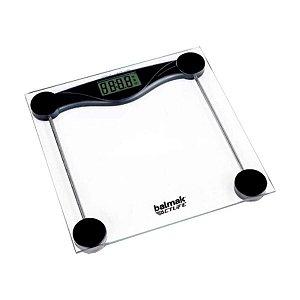Balanca Digital Pessoal 200Kg X 100 G Plat Vidro Temperado Balmak