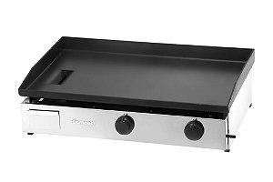 Chapa Bifeteira Para Lanche Profissional a Gas 80x50cm Compact