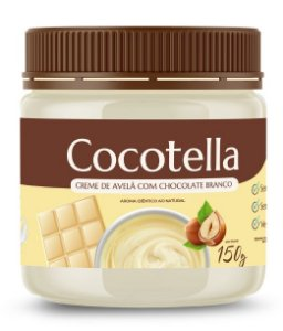 Cocotella - Creme de Avelã com Chocolate Branco