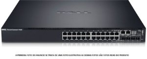 Switch Dell Powerconnect 7024 24P Gigabit + 4 Sfp Fibra 10G