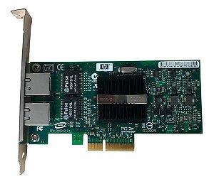 Placa De Rede Dual Port Hp Nc360t Pn: Hstns-bn16 Pci-e