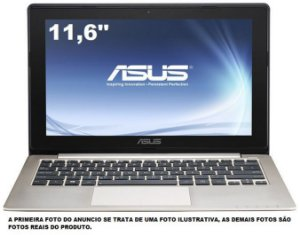 Notebook Asus X202e Core I3 120Gb Ssd 4gb HDMI Tela Touch