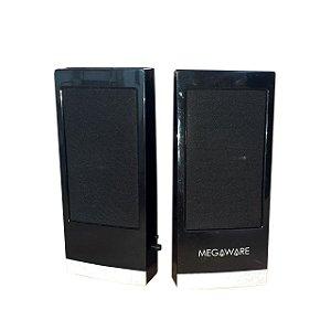 Caixa De Som Megaware Para Pc ou Notebook / Mostruário