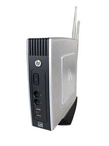 Mini Computador Hp T510 Dual Core 4Gb SSD 120 Gb Wi-fi