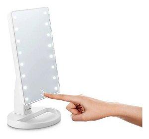Espelho De Maquiagem Com Led Touch Multilaser - Hc174