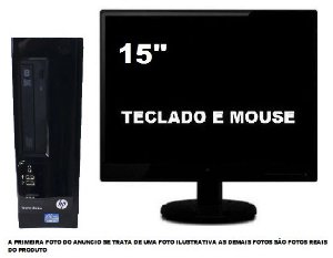 Computador Hp pro 3410 Core I5 8gb Ddr3 120Ssd / Wifi