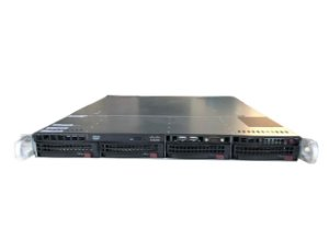 Servidor Supermicro 1U Xeon 8Gb 4Tb / Novo Na Caixa