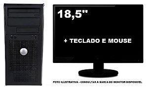 Computador Dell Optiplex 755 Intel Dualcore 4gb 120gb Ssd