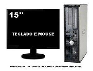 Computador Dell Optiplex 755 Intel Core 2 Duo 4gb 120gb Ssd