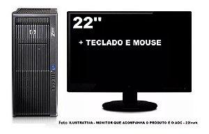 Workstation Hp Z800 2 Xeon Sixcore 32gb 240gb Ssd + 2tb