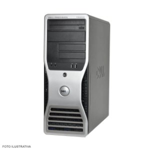 Workstation Dell precision T3400 8gb 120Ssd + Vga Quadro