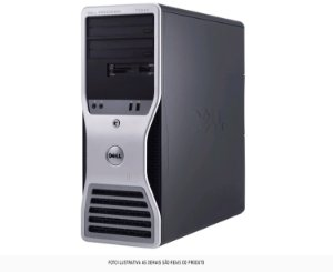 Workstation Dell T3500 w3503 16gb 240 Ssd