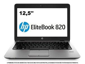 Notebook HP elitebook 820 i5 5300 8gb hd 500gb