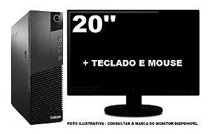 Lenovo Thinkcentre M83 Core I3 4ger 8gb 120ssd - Semi Novo