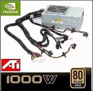 Fonte 1000w Real Gamer Atx  Dps-1120ab Super Silenciosa