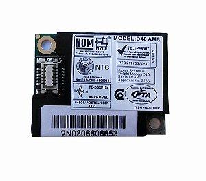 Modem Notebook Cce Win Bps Mod: D40 Am5