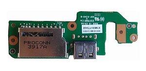 Placa Usb Cartão De Memoria Cce 15bft3-050302