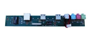 Placa Dc Power All In One Cce N81 Audio Usb Rede Rj45  Tv 19