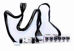 Placa Teclado Funções + Sensor Tv Cce C320 Mod 1.10.73360.01