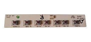 Placa Teclado Funções Tv Cce D32 / 32'' Led Mod: Kt-2049