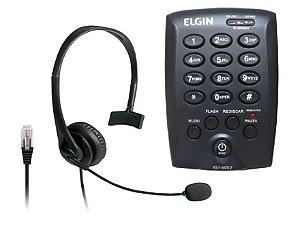 Telefone Elgin Com Headset Hst-6000 Preto