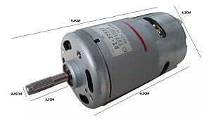 Motor 12v 775dc 19500 Rpm 230w Projetos Diversos